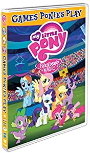 My Little Pony Friendship Is Magic: Games Ponies Play [Region 1]