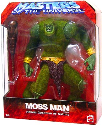 Picture of Mattel He-Man Masters of the Universe Exclusive Action Figure Moss Man (Guardian of Nature) (B000SND1GE) (Mattel Action Figures)