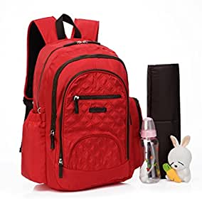 colorland smart large backpack diaper bag red. Black Bedroom Furniture Sets. Home Design Ideas