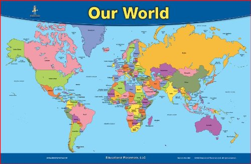 World Map Placemat (Revised 2012) - 1