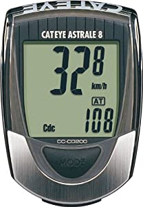 Cateye CC-CD200 Astrale 8-Function Bicycle Computer