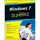 Windows 7 For Dummies Quick Reference (For Dummies: Quick Reference (Computers))by Greg Harvey