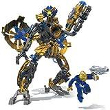 Mega Bloks - Neo Shifters Robot -Atlas Raan -Yellow-Paladin Warrior