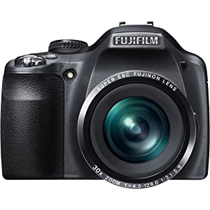Fujifilm FinePix SL300 14 MP Digital Camera with 30x Optical Zoom (Black)
