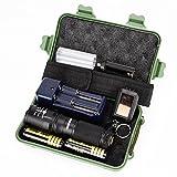 Flashlight,Baomabao 5000 Lumens G700 X800 LED Zoom Military Grade Tactical Flashlight Battery