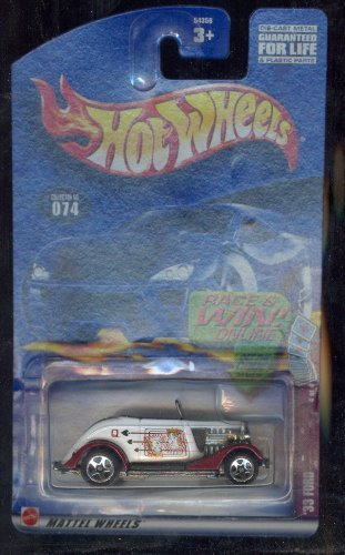 Hot Wheels 2002-074 '33 Ford 1933 4 of 4 1:64 Scale - 1