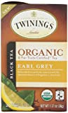 Organic Black Tea, Earl Grey, 20 Tea Bags, 1.27 oz (36 g)
