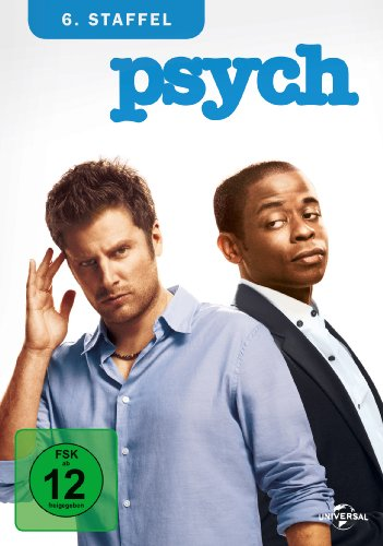 Psych - 6. Staffel [4 DVDs]