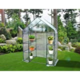 """ON Sale! Quictent® New Mini High Quality 56""""x29""""x77"""" Portable Green House 6 shelves Greenhouse"""