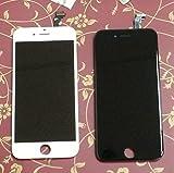 iPhone6 フロントパネル カスタムパーツ 4.7インチ 液晶パネル LED スクリーン 修理パーツ (黒)
