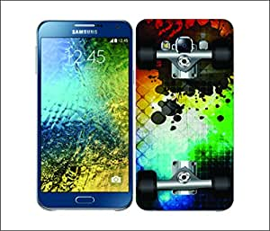 Galaxy Printed 2797 SkateBoards Mosaic Hard Cover for Samsung CORE PLUS
