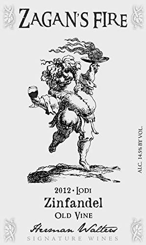 2012 Zagan'S Fire Old Vine Lodi Zinfandel 750 Ml