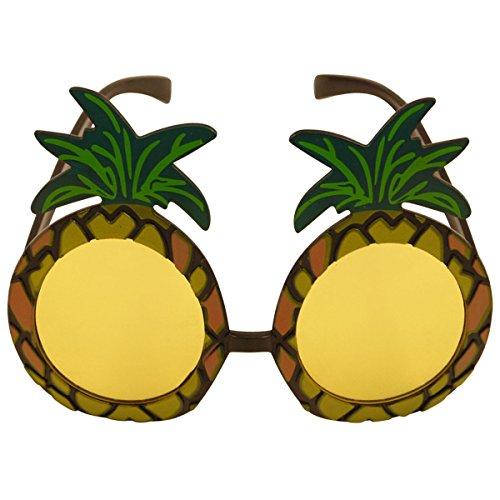 Paire de lunettes de soleil ananas