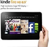 Kindle Fire HD 8.9, 8.9 HD display, 16 GB or 32 GB, Wi-Fi or Optional 4G LTE Wireless (Previous Generation - 2nd)