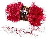 Fun Fur Yarn - Raspberry