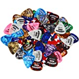 Legacy Pearloid Guitar Picks - 60 Assorted (.46MM - 1.5MM)