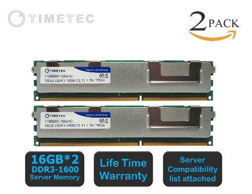 Hynix 32GB 4x 8GB PC3-10600 DDR3 1333MHZ 2Rx4 ECC Registered Server Memory RAM