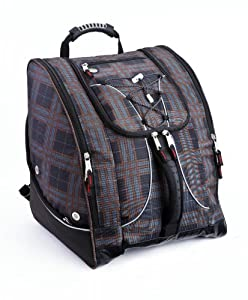 Athalon Everything Boot Bag (Plaid)