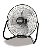 Patton PUF1410B-BM High Velocity Fan, Three Speed, Black