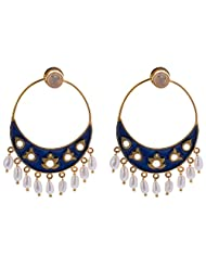 Out Of The Box Party Wear Gold Plated Earring Set For Women (OOTB004)