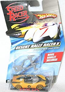 Speed Racer Desert Rally Racer X (Street Car with Spear Hooks) 1:64