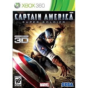 Captain America: Super Soldier Video Game for Xbox 360