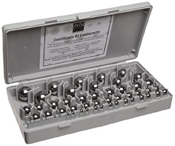 Brown & Sharpe 599-766 Precision Gauge Ball Set