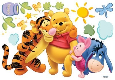 Winnie-the-Pooh-Friends-Kinder-Wandaufkleber-Home-Kunst-Deko-Wandtattoo