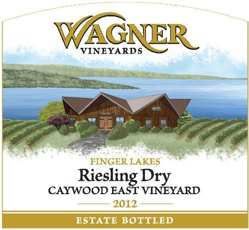 2012 Wagner Vineyards Dry Riesling Caywood East Vineyard 750 Ml
