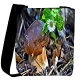 Snoogg Little Mushroom Designer Womens Carry Around Cross Body Tote Handbag Sling Bags