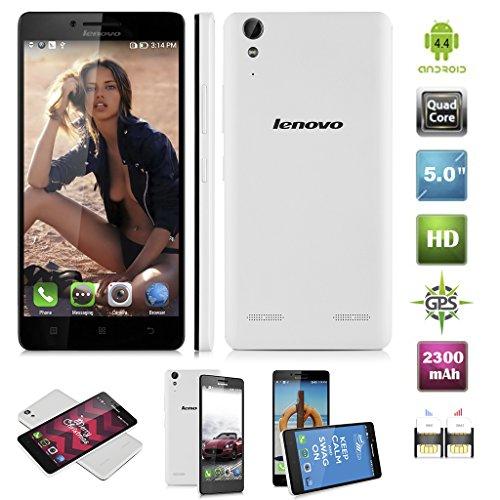 Lenovo-K30-W-4G-SmartPhone-Dbloqu-50-Pouce-IPS-HD-1280720-Pixels-Android-44-12GHz-Quad-Cores-Snapdragon-410MSM8916-RAM-1GB-16GB-ROM-Double-SIM-Double-Camra-50MP-20MP-GPS-WIFI-pour-plupart-Oprateur-Eur