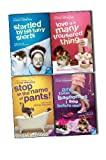 Louise Rennison Louise Rennison Confessions of Georgia Nicolson 4 Books Collection Pack Set RRP: £43.96 (Stop in the Name of Pants!, Are These My Basoomas I See Before Me?, Love Is a Many Trousered Thing-Hardback, Startled by His Furry Shorts