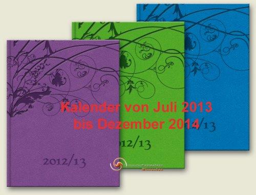 Brunnen Kalender Désirée Juli 2013 - Dez 2014 Kunstleder DIN A5