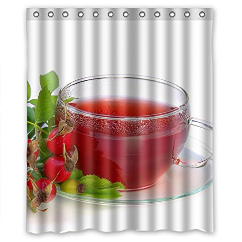 "Sale alerts for Malcolm-Fashion Pomegranate juice Shower Curtain Measure 60""(w)*72""(h) - Covvet"