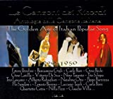 Various Artists The Golden Age of Popular Italian Song 1920-1950