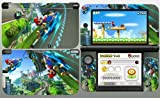Super Mario Kart 3DS XL Vinyl Skin Decal Sticker for 3DS XL