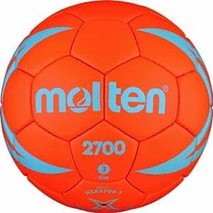 Molten H2X2700 Ballon de handball Orange/bleu/argent Taille 2