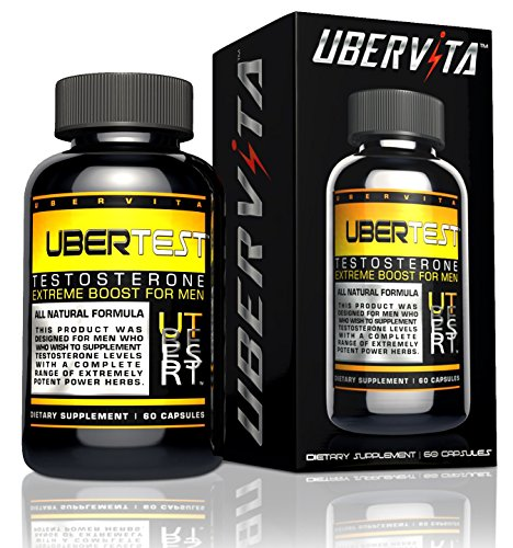 Ubervita Ubertest All Natural Testostérone pour
