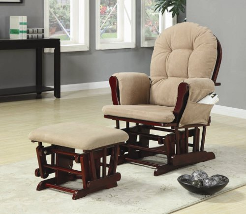 Glider Ottoman Only front-729646