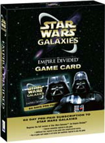 Star Wars Galaxies 60 Day Pre-Paid Game Card