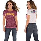 NBA Touch by Alyssa Milano Cleveland Cavaliers Women's Super Fan T-Shirt (X-Large) Amazon.com