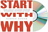 Start with Why Audiobook: START WITH WHY Audio CD: by Simon Sinek Start With Why