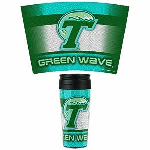 Buy NCAA Tulane Green Wave 16-Ounce Travel Mug by WinCraft