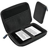 igadgitz Nero Rigida EVA Custodia Case Cover Protezione per Amazon Kindle 2014, Kindle Voyage, Kindle Paperwhite 2012 2013 & Kindle Touch