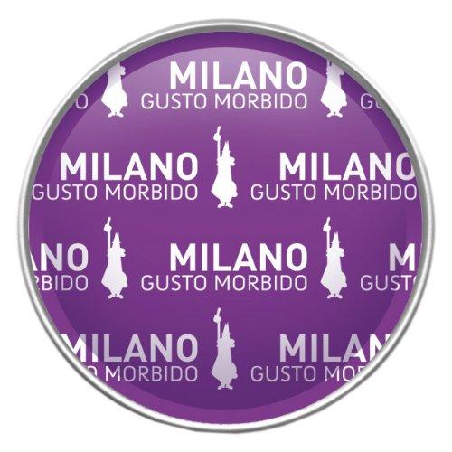 16 Capsule Alluminio I Caffe' D'Italia Bialetti Mokespresso Milano Originali