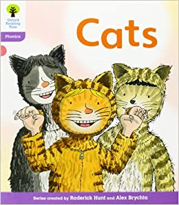 Oxford Reading Tree: Level 1+: Floppy's Phonics Fiction: Cats: Roderick Hunt, Kate Ruttle, Mr