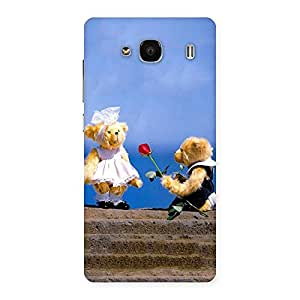 Special Proposal Teddy Multicolor Back Case Cover for Redmi 2