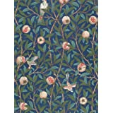 Bird and Pomegranate wallpaper, by William Morris (Print On Demand)