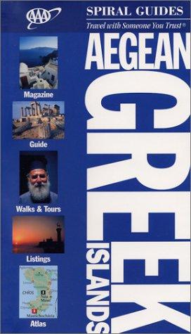 Aegean Greek Isle Spiral Guide (Aaa Spiral Guides)