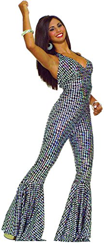 Forum Novelties Women's 70's Disco Boogie Dancing Babe Jumpsuit